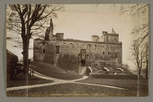 Linlithgow Palace, East Front.