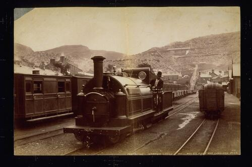 Festiniog narrow gauge rail.