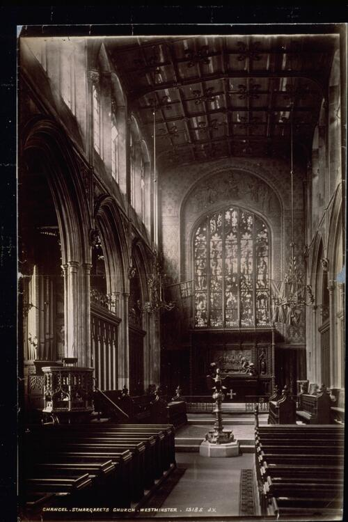 Chancel, St Margaret's Church, Westminster.