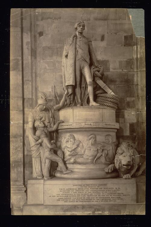 """Nelson"" Monument, St Paul's [Cathedral], London."