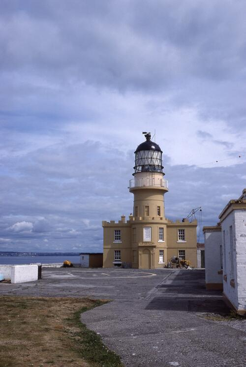 Inchkeith Lighthouse.