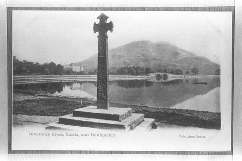 Inveraray Cross and Castle.