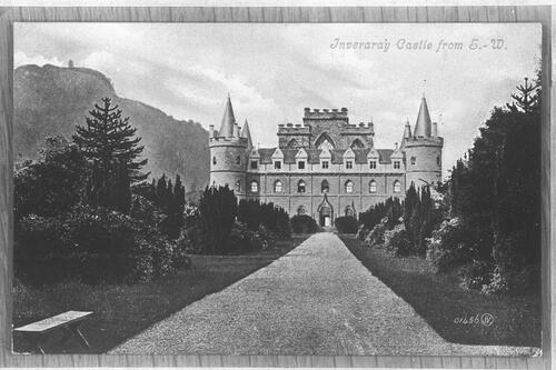Inveraray Castle from S W.