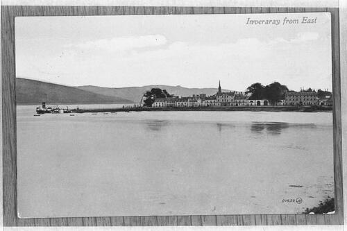 Inveraray from East.