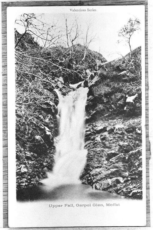 Upper Fall, Garpol Glen, Moffat