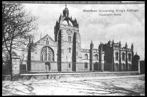 King's College, Aberdeen.