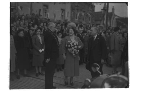 Queen's visit to Anstruther.