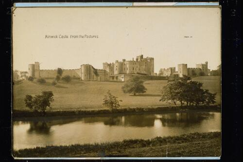 Alnwick Castle from the Pastures.