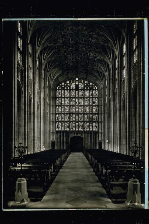 Nave, St George's Chapel.
