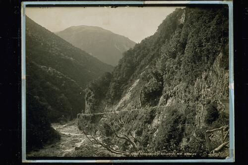 Otira Gorge and Mt Rollerston