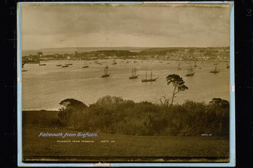 Falmouth from Trefusis.