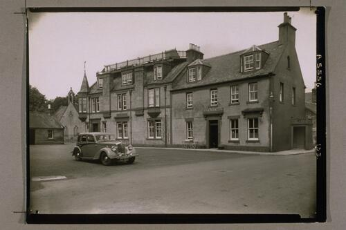 The Square, West Linton.