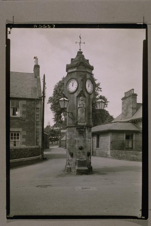The Town Clock, West Linton.