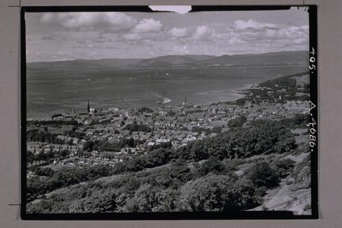 Largs from the North.