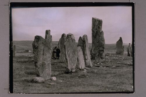 Stones at Callanish, Stornoway.