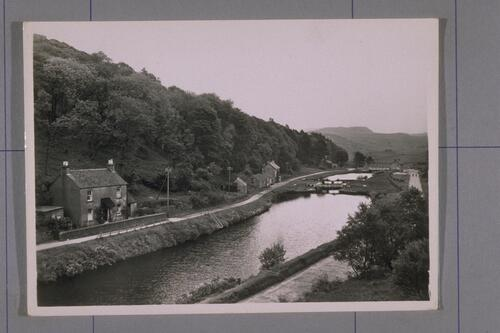 Cairnbaan from Crinan Canal.