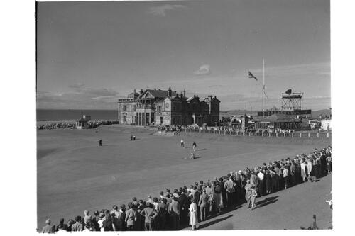 R&A and Old Course, St Andrews.