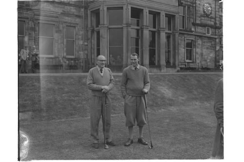 Golfers, Old Course, St Andrews.