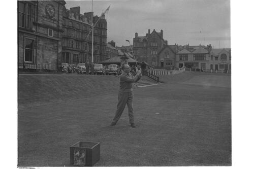 J Beck, Old Course, St Andrews.