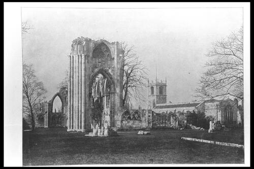 St Mary's Abbey, York.