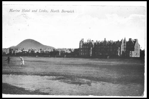 Hotel and Links, North Berwick.