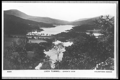 Loch Tummel, Queen's View.