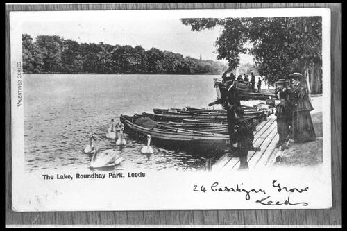 The Lake, Roundhay Park.