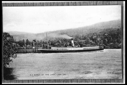 SS Queen of the Lake, Loch Tay.