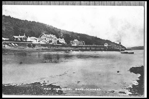 Pier and Hotel, Garelochhead.