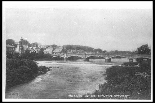 The Cree Bridge, Newton-Stewart.