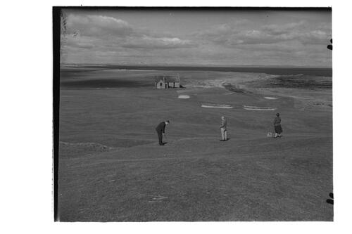 Crail Golf Course.