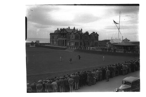 18th, Old Course, St Andrews.