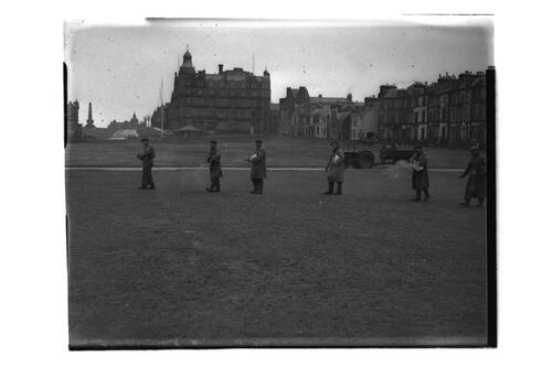 Work on Old Course, St Andrews.