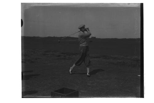 Jack McLean at St Andrews.