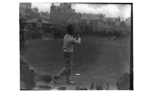 Eric McRurie at St Andrews.