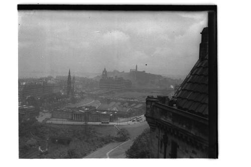 Edinburgh from the Castle,
