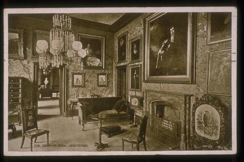 The Drawing Room, Abbotsford.