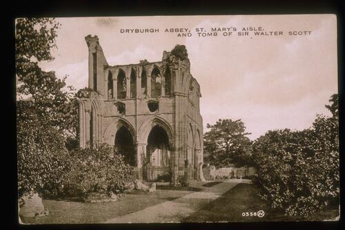 St Mary's Aisle, Dryburgh Abbey.
