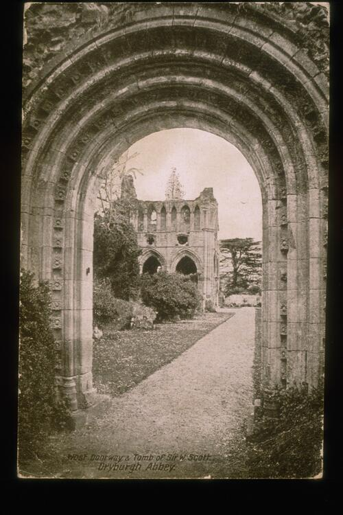 West Doorway, Dryburgh Abbey.