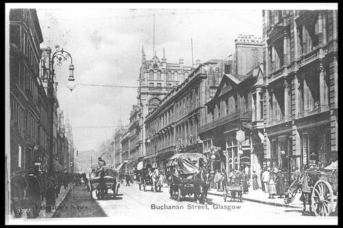 Buchanan Street, Glasgow.