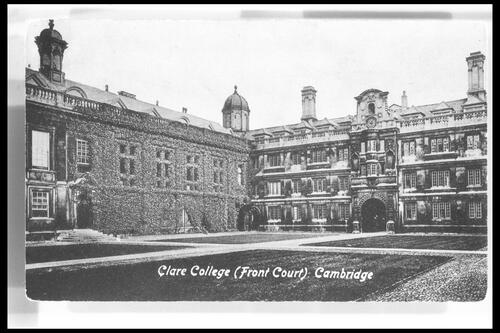 Clare College (Front Court).