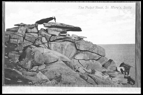 Pulpit Rock, St Mary's, Scilly.