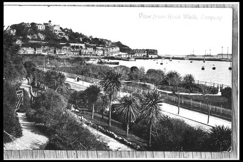 View from Rock Walk, Torquay.