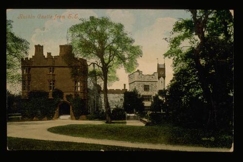 Ruthin Castle from S E.