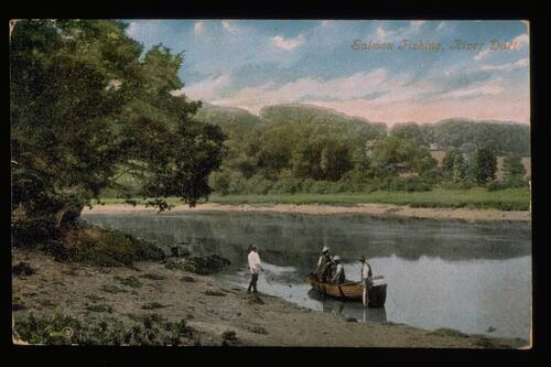 Salmon Fishing, River Dart.