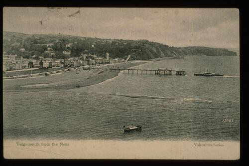 Teignmouth from the Ness.