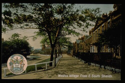 Westoe Village, South Shields.