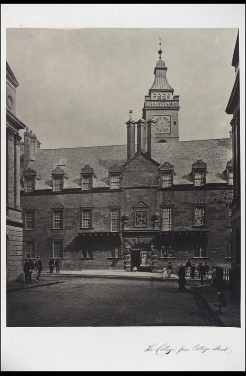 The College, from College Street, [University of Glasgow] Glasgow.