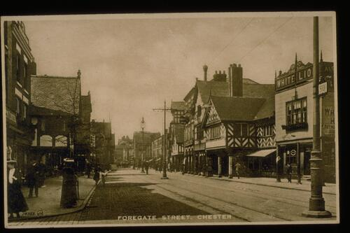 Foregate Street, Chester.