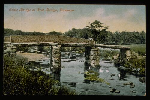 Celtic Bridge, Dartmoor.